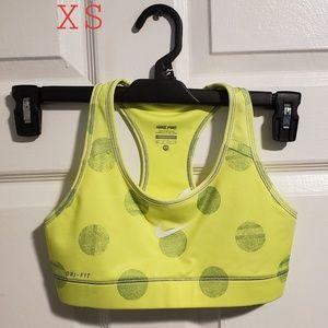 Nike Pro Dotted Sports bra
